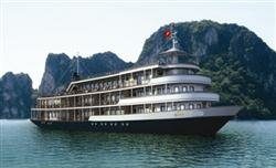 The au co croisiere a la Baie d`Halong